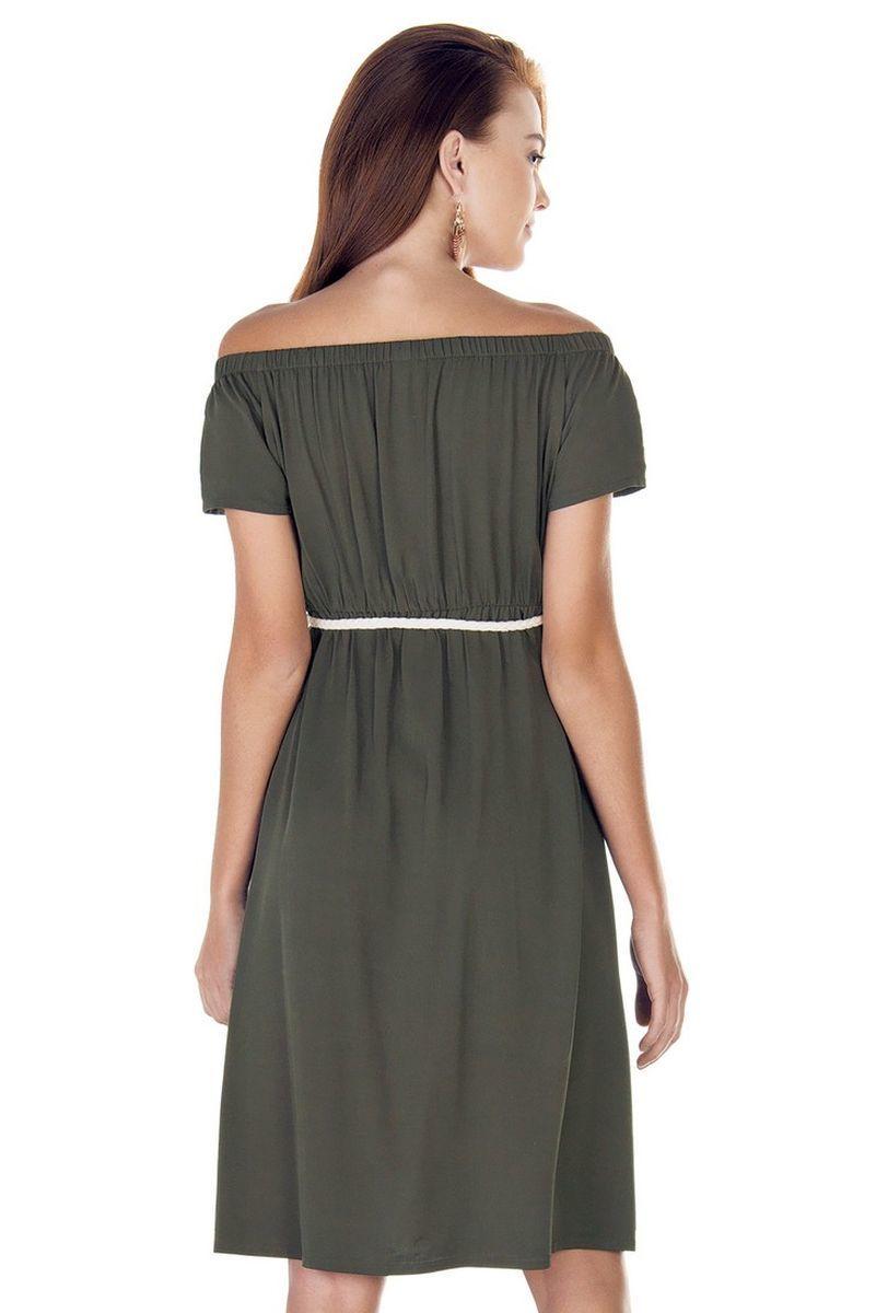 Фото платье для беременных EBRU от магазина СкороМама, зеленый, размеры.