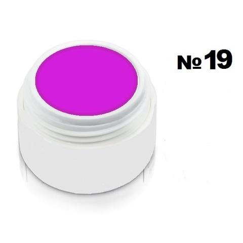 Моделирующий гель-пластилин для декоративного дизайна 7гр. №19 Ярко-фиолетовый