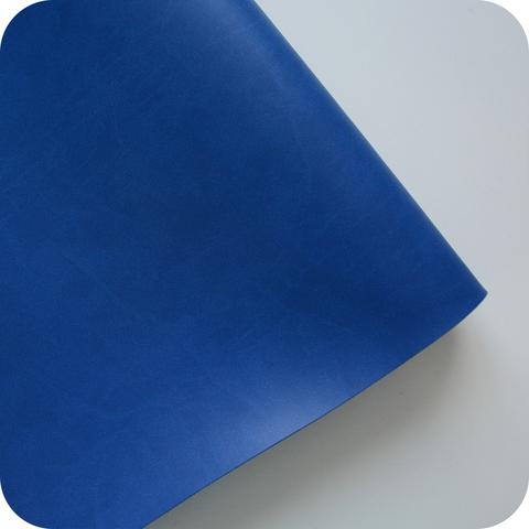 Кожзам переплетный матовый, синий