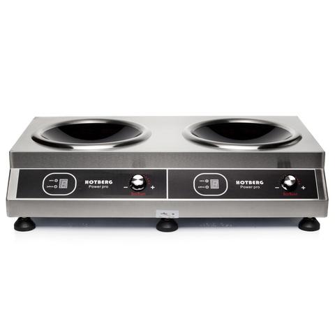Плита индукционная Hotberg 3500BWX2 Wok 2-конфорочная