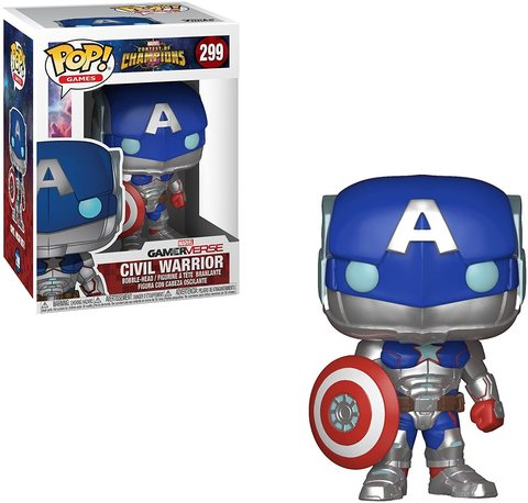 Фигурка Funko POP! Vinyl: Games: Marvel Contest of Champions: Civil Warrior 26709