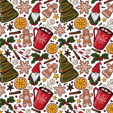 Рождество и Новый год. Зимнее настроение- какао с зифирками.
