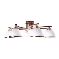INL-9287C-08 Antique brass & Walnut