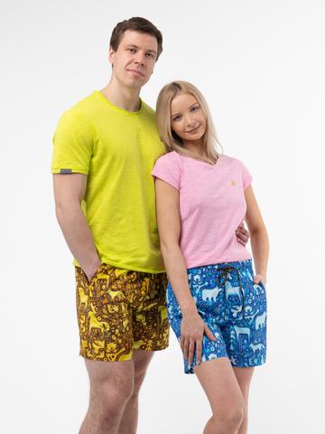 Женские пляжные шорты «Крым наш»
