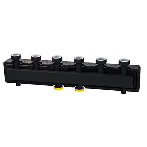 Коллектор котельной разводки STOUT - Ду25 на 5 контуров (в теплоизоляции)