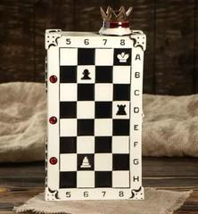 Штоф с рюмками «Шахматы», 7 предметов 0,75 л, фото 4