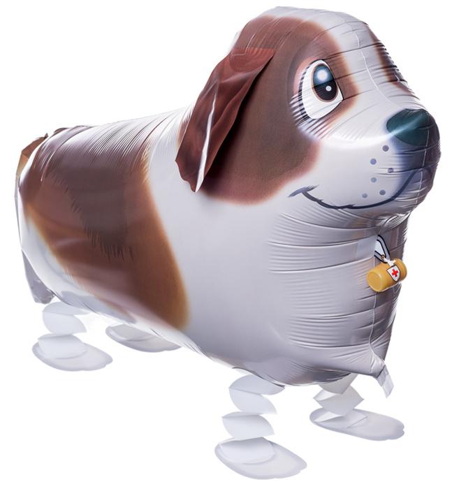 К Ходячая Фигура, Собака, Коричневый, 24''/61 см, 1 шт.