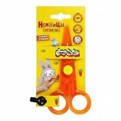 Ножницы детские Каляка-Маляка безопасные пластик, европодвес 3+