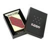 Зажигалка Zippo Classic, латунь с покрытием Brushed Brass, золотисто-красный, матовая, 36х12x56 мм
