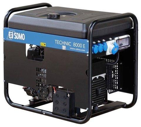 Кожух для бензинового генератора SDMO Technic 8000E Auto (6300 Вт)