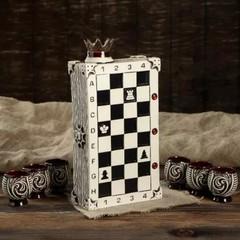 Штоф с рюмками «Шахматы», 7 предметов 0,75 л, фото 5