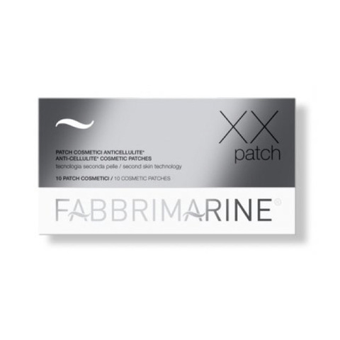 FABBRIMARINE |  Антицеллюлитные патчи, линия XX Patch / Anti-cellulite cosmetic patches, (10 шт)