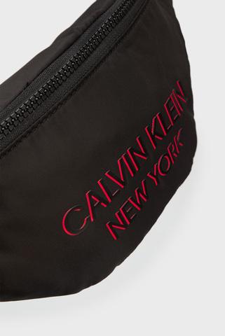 Мужская черная поясная сумка WAISTBAG NY Calvin Klein