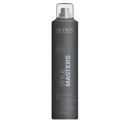 REVLON Style Masters: Лак неаэрозольный для волос сильной фиксации (Pure Styler Strong Hold Hairspray), 325мл