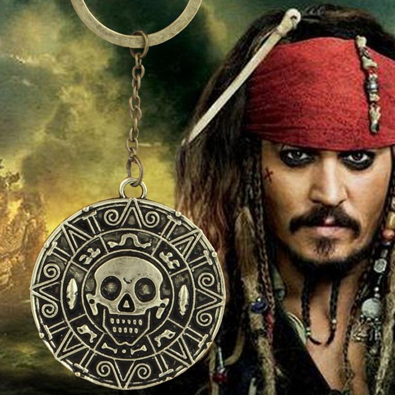 Брелок Pirates of the Caribbean Aztec Coin