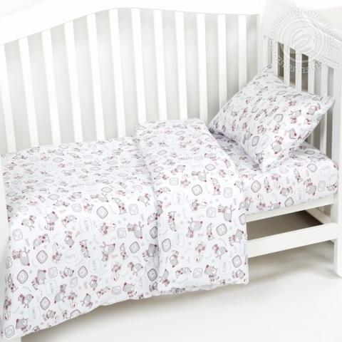 Детское постельное бельё Друзья ТРИКОТАЖ