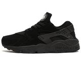 Кроссовки Мужские Nike Air Huarache Black Suede