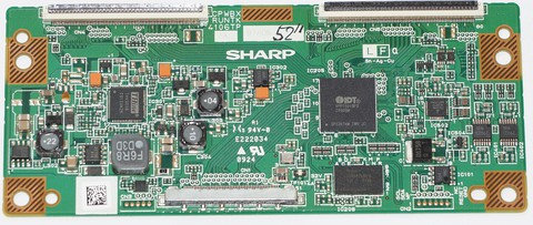 CPWBX RUNTK 4106TP t-con телевизора sharp