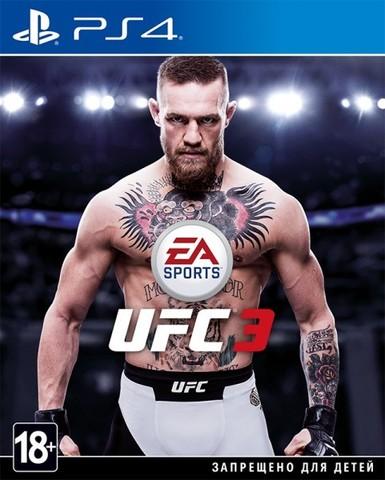 UFC 3 (PS4, русские субтитры)