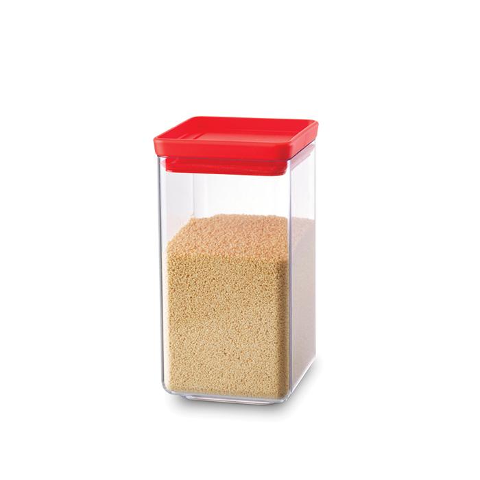 Прямоугольный контейнер (1,6 л), Красный, арт. 290022 - фото 1