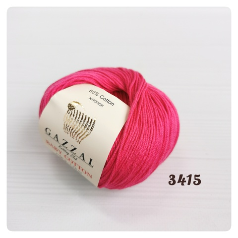 GAZZAL BABY COTTON 3415, Малиновый