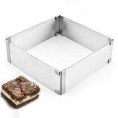 Форма раздвижная для выпечки L 15-28см H5 см, оптом 5 шт.