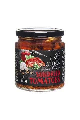 Вяленые помидоры в подсолнечном масле Attica Food 270 гр