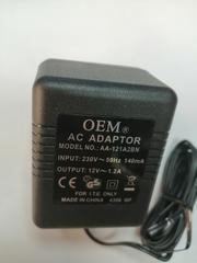 AC Adaptor 12V 1A  Блок питания постоянного тока