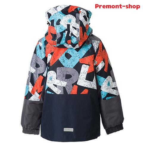 Демисезонная куртка для мальчика Premont Краски Сент-Джонс