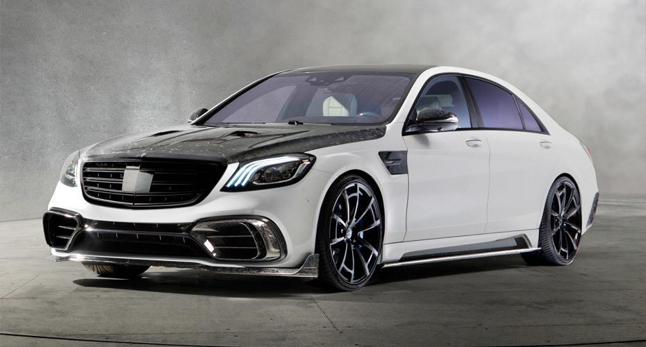 Обвес Mansory для Mercedes S-class W222 рестайлинг