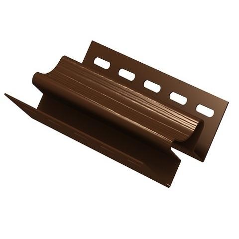 Ю пласт угол внутренний коричневый 3 м