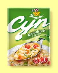 СУП КУРИНЫЙ С РИСОМ 60 г