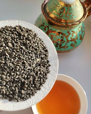 Зелёный чай Ганпаудер, 100 г