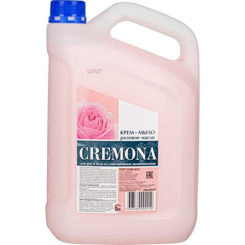 Крем-мыло Кремона Розовое масло 5 л