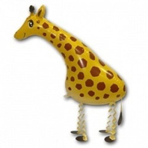 К Ходячая Фигура, Жираф, Желтый, (28''/71 см), 1 шт.