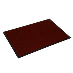 Коврик влаговпитывающий, ребристый, красный, 40*60 см