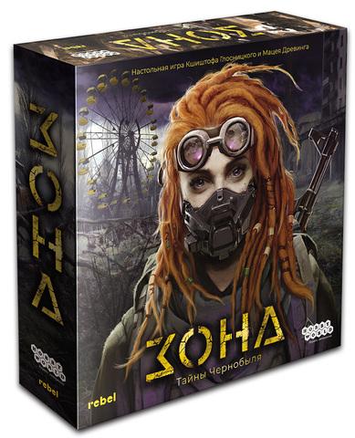 Настольная игра Зона. Тайны Чернобыля