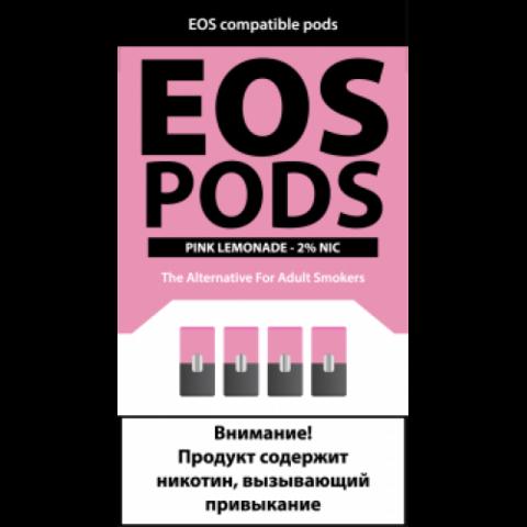 EOS 4 картриджа (для JUUL) Pink Lemonade