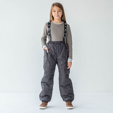 Winter membrane trousers for teens - Chocolate