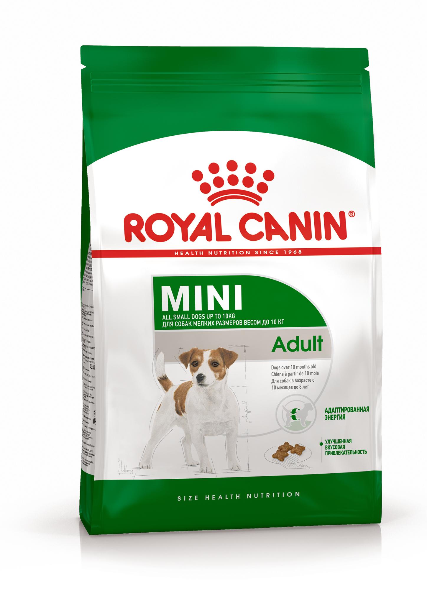 Сухой корм Корм для собак мелких пород, Royal Canin Mini Adult 4627109384617_1.jpg