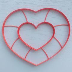 Сердце торт