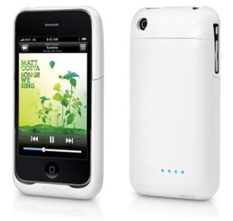 Mophie Juice Pack Air дополнительный аккумулятор для iPhone 3G (White)