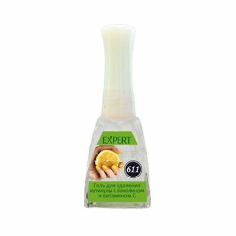 Severina, Гель для удаления кутикулы №611 «С ланолином и витамином C», 11.5 мл