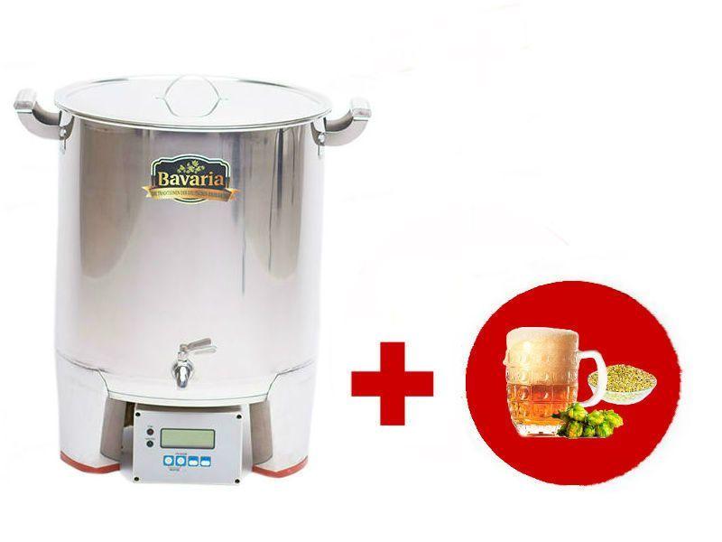 Домашние пивоварни Домашняя пивоварня Bavaria 10 литров 001059_1.jpg