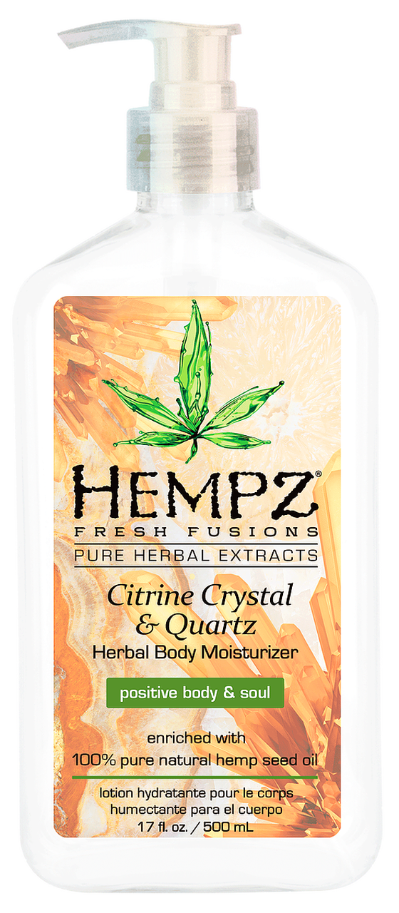 Hempz Citrine Crystal and Quartz Body Moisturizer