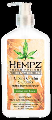 Hempz Citrine Crystal and Quartz Body Moisturizer