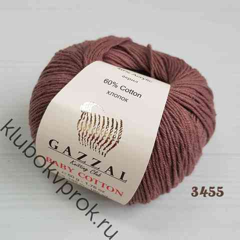 GAZZAL BABY COTTON 3455, Коричнево-фиолетовый