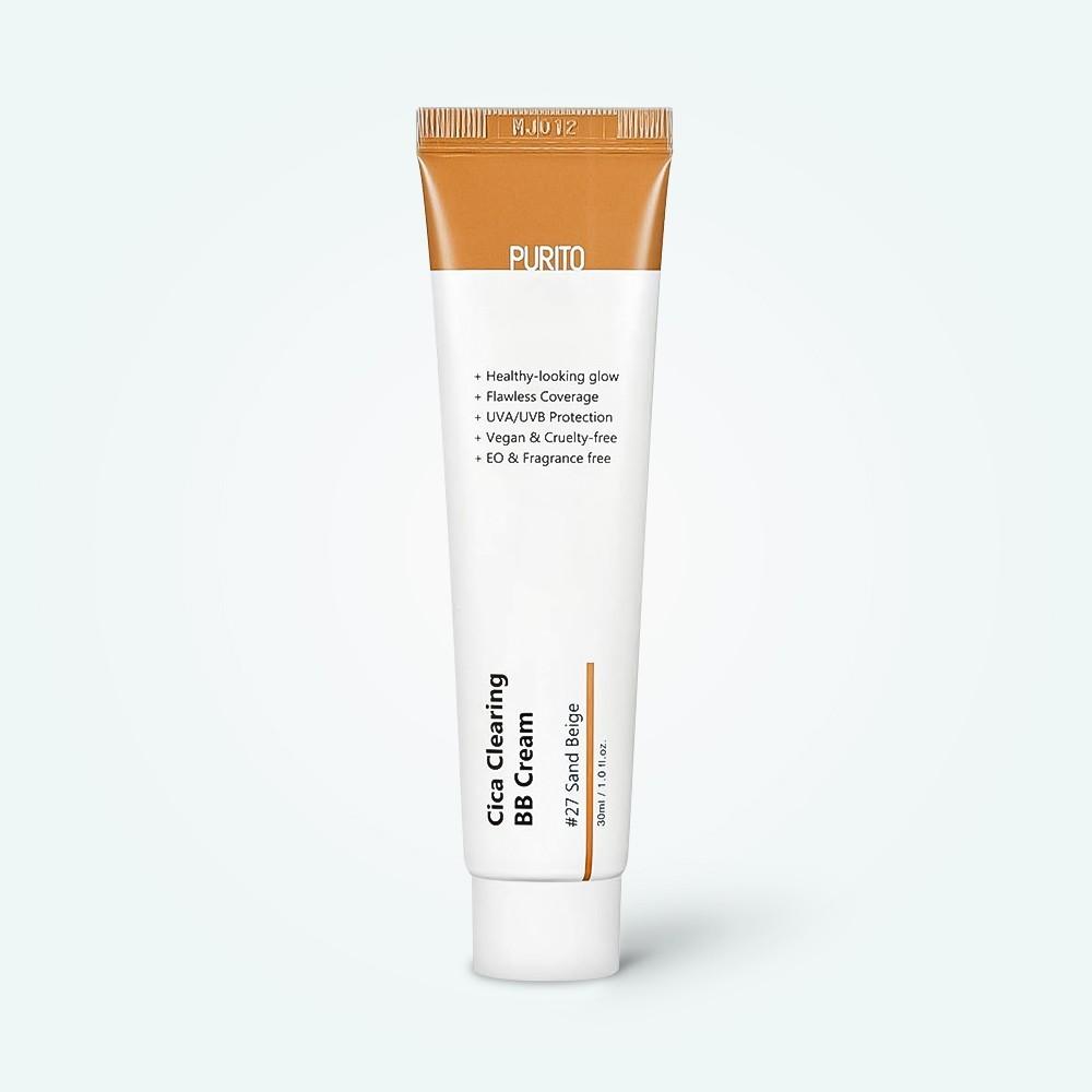 BB крем Purito Cica Clearing BB Cream 27 Sand Beige SPF 38 30 мл