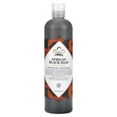 Duş üçün gel \ Гель для душа \ Body Wash African Black Soap, 13 fl oz (384 ml)