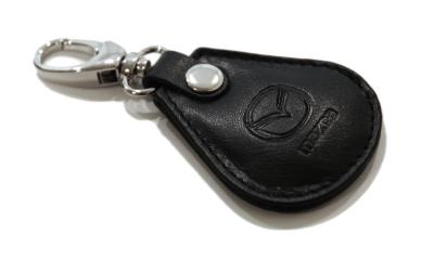 Брелок кожаный Mazda Leather Keyring